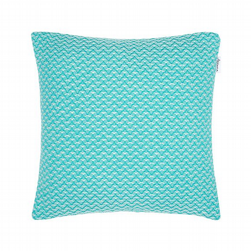 Yorkshire Wool Scatter Cushion - Aqua
